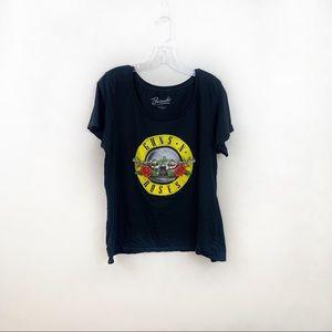 Bravado Guns N Roses black t-shirt